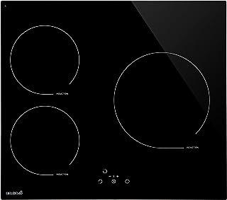 Table de cuisson Induction 3 foyers Française avec minuterie - BELDEKO