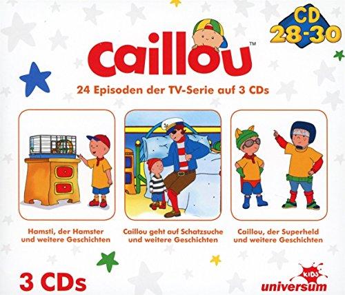 Caillou Hörspielbox 10 (CD 28-30)