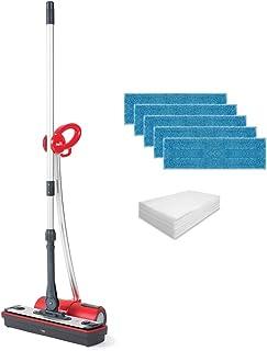 Polti Moppy Red Premium Limpiador Vapor sin Cables, con