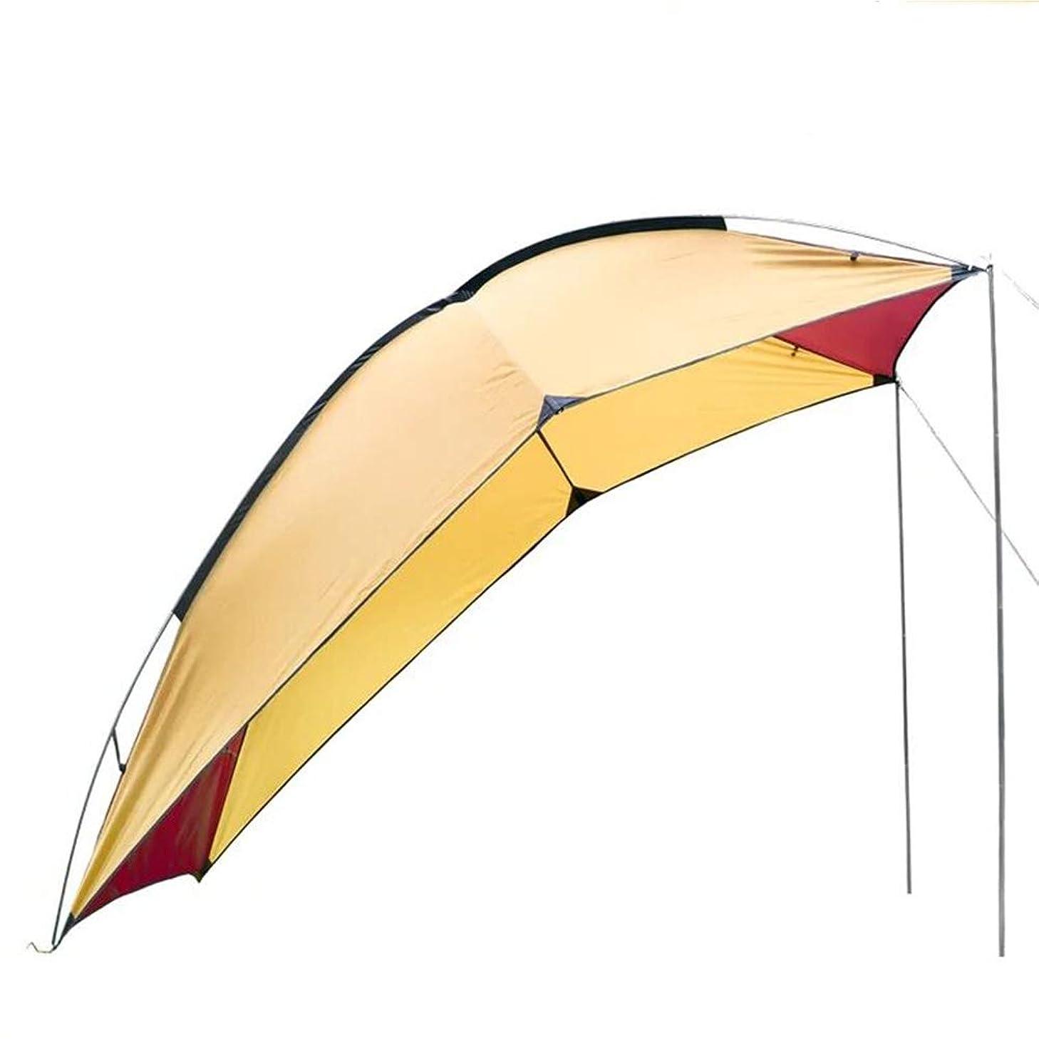 優勢配偶者平行Kadahis タープ テント カーサイドタープ 車用 日よけカーテント 設営簡単 単体使用可能 5-8人用 キャンプ テント アウトドア 公園 登山 車中泊