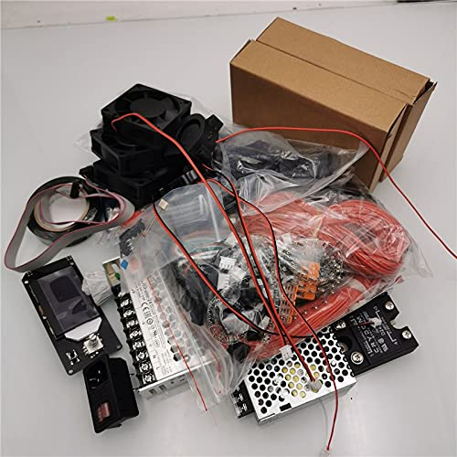 LUOERPI VORON 2.4 Impresora 3D DIY SKR1.3 Juego de Piezas electrónicas Paquete de Conectores Meanwell Power TMC2209