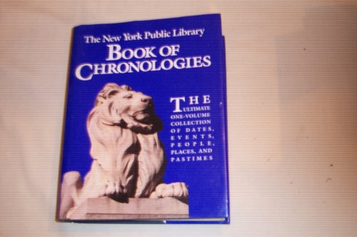 New York Public Library Book of Chronologiesの詳細を見る