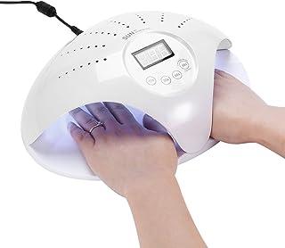 Máquina de secado de uñas, 2 tipos de lámpara de uñas SUN UVLED Secador de uñas Herramientas de arte de uñas para esmalte de gel de uñas con sensor inteligente(110V-240V)