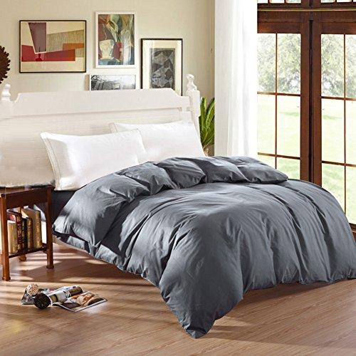 XAIOJIBA Moderne minimalistische stijl studenten eenkleurig 100% katoen dekbed cover