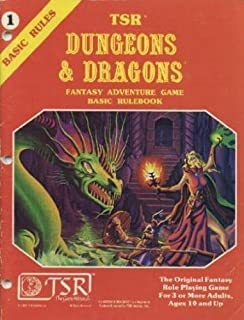 tsr dungeons and dragons