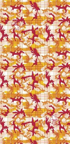 Lässig Foulard pour Adulte Camouflage Orange