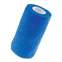 Contains latex Non woven material Grips to itself, not the skin Non adhesive Individually wrapped