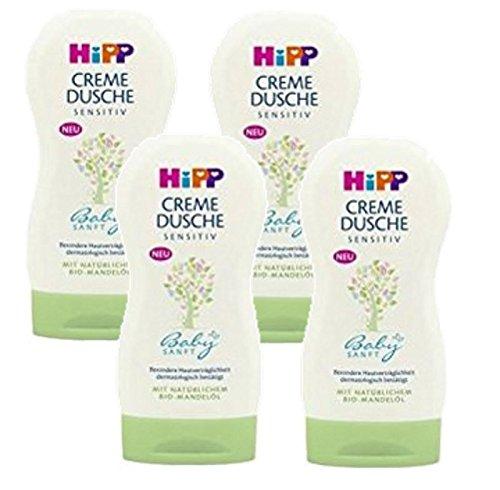 HiPP Babysanft Creme Dusche, 4er Pack (4 x 200ml)