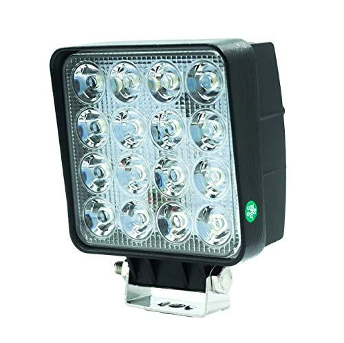 CRAWER LED Arbeitsscheinwerfer 48 Watt 4560 Lumen Wasserdicht Spritzwasserfest IP67 Radioentstört CISPR 2/3 Indoor Offroad arbeitslicht arbeitsleuchte LED Leuchte Traktor lampe scheinwerfer