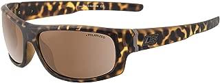 Dirty Dog Mens Bat Satin Sunglasses - Brown Tort/Brown