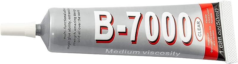 ZHANLIDA B-7000 Pegamento Industrial Multifuncional - Viscosidad Media - Transparente (50ML)