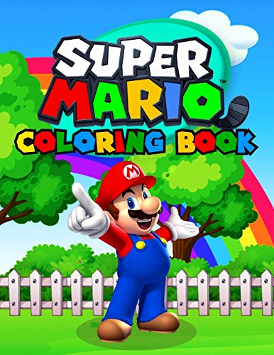 Super Mario Coloring Book: Great Coloring Book for Kids Ages 2-10 (Exclusive Illustrations)
