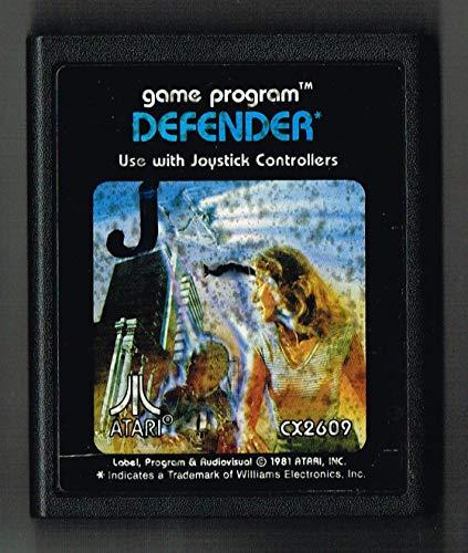 Générique Defender - Atari 2600 - CX2609 - Jeu vidéo - Cartouche Uniquement - 1981