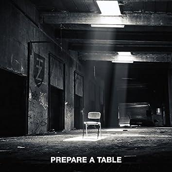 Prepare a Table