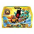 Treasure X Sunken Gold Treasure Ship Playset - 25 Levels of Adventure | Find Guaranteed Real Gold Dipped Treasure | Interactive Fun for All, Treasure Hunter from Moose Toys
