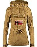 Geographical Norway Damen Windbreaker Jacke Kaki L