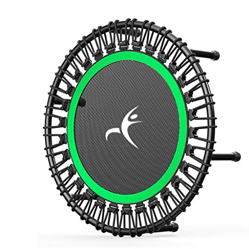 Rebounder Trampolines 40inch Foldable Trampoline, Portable Fitness Workout Mini Rebounder Trampoline, Inch Max Load 440lbs for Indoor Garden Workout Cardio Exercise Exercise Equipment ( Color : B )
