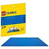 LEGO 10714 Classic Base Azul, Juego de Construcción para Niños y Niñas +4 años