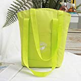 Bolsa de aislamiento, Bandolera, lavable, multicolor opcional serie de aislamiento, reutilizable, multicolor opcional bolsa de aislamiento amarillo