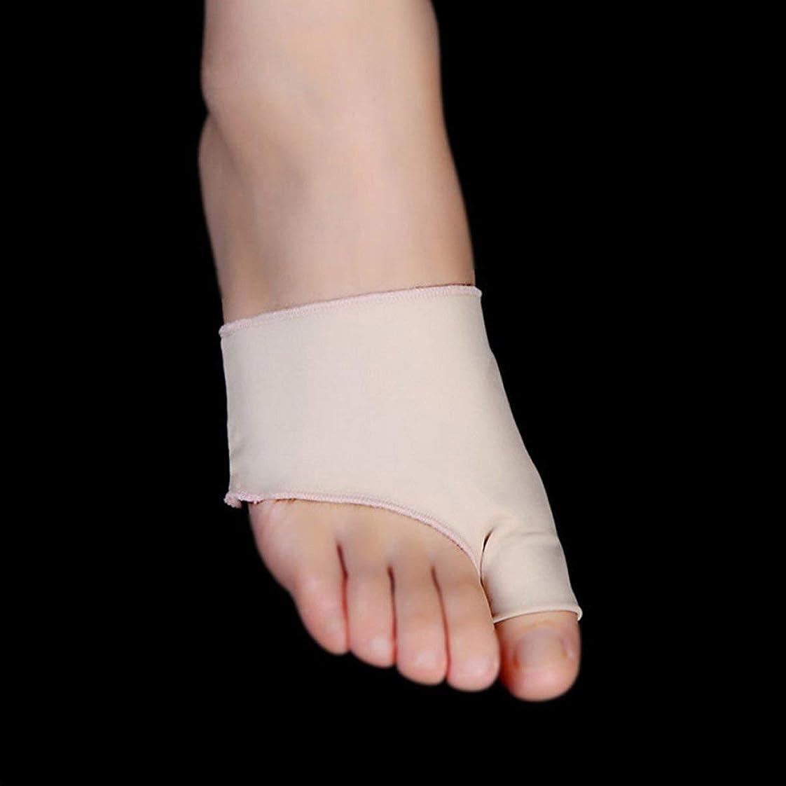 グラム塗抹動脈1Pair Unisex Big Little Toe Separator Hallux Valgus Varus Straighteners Bunion Corrector Sock Feet Care Tool Bunion Relief Correction Pain Relieve