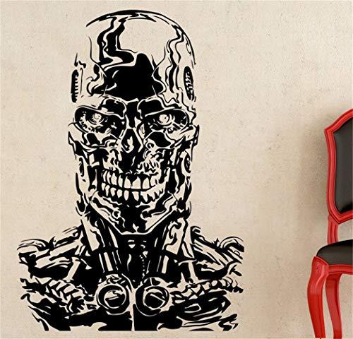 Wandtattoo Wohnzimmer Terminator Judgement Day Aufkleber Retro Movie Poster Für Wohnzimmer Schlafzimmer Jungen Schlafzimmer
