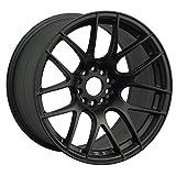 XXR WHEELS 530 Rim 18X8.75 5X100/5X114.3 Offset 20 Flat Black (Quantity of 1)