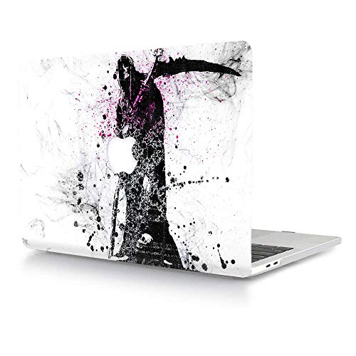 AJYX MacBook Pro 13 inch Case 2020 2019 2018 2017 2016 Release A2289 A2251 A2159 A1989 A1706 A1708, Plastic Hard Shell Case Cover for Newest MacBook Pro 13.3 - Soul Harvester