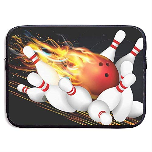 Laptop-Hülle Bowlingkugel Notebook-Tasche Laptop-Umhängetasche Schutz 15 Zoll