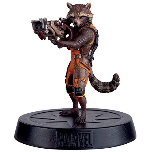 Eaglemoss Marvel Movie Collection Special Rocket Racoon 7 CMS