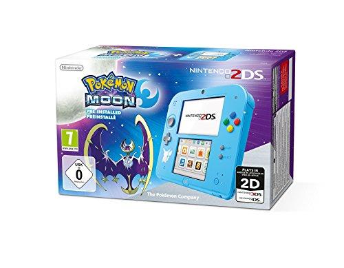 Nintendo 2DS - Konsole (Special Edition) inkl. Pokémon Mond (vorinstalliert)