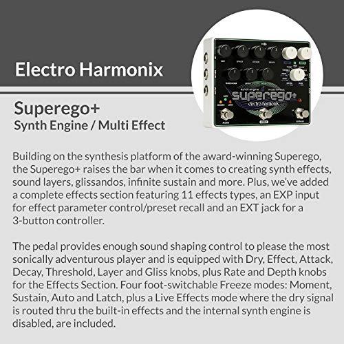 Electro Harmonix Superego Plus Synth Engine/Multi Effect