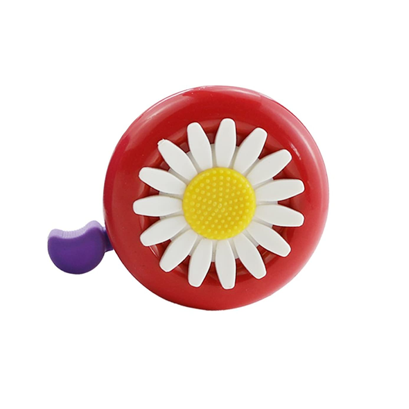 Oruuum Bicycle Bells, Children's Bicycle Bells, Bicycle Accessories, Bell with Plastic Flowers, Retro Bicycle Bells, and The Voice is Clear and Loud.