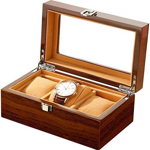 WYBFZTT-188 Reloj de Madera Brillante Premium/Brazalete de Almohada Caja Gran Regalo de cumpleaños Regalo de Fiesta (Color : B)