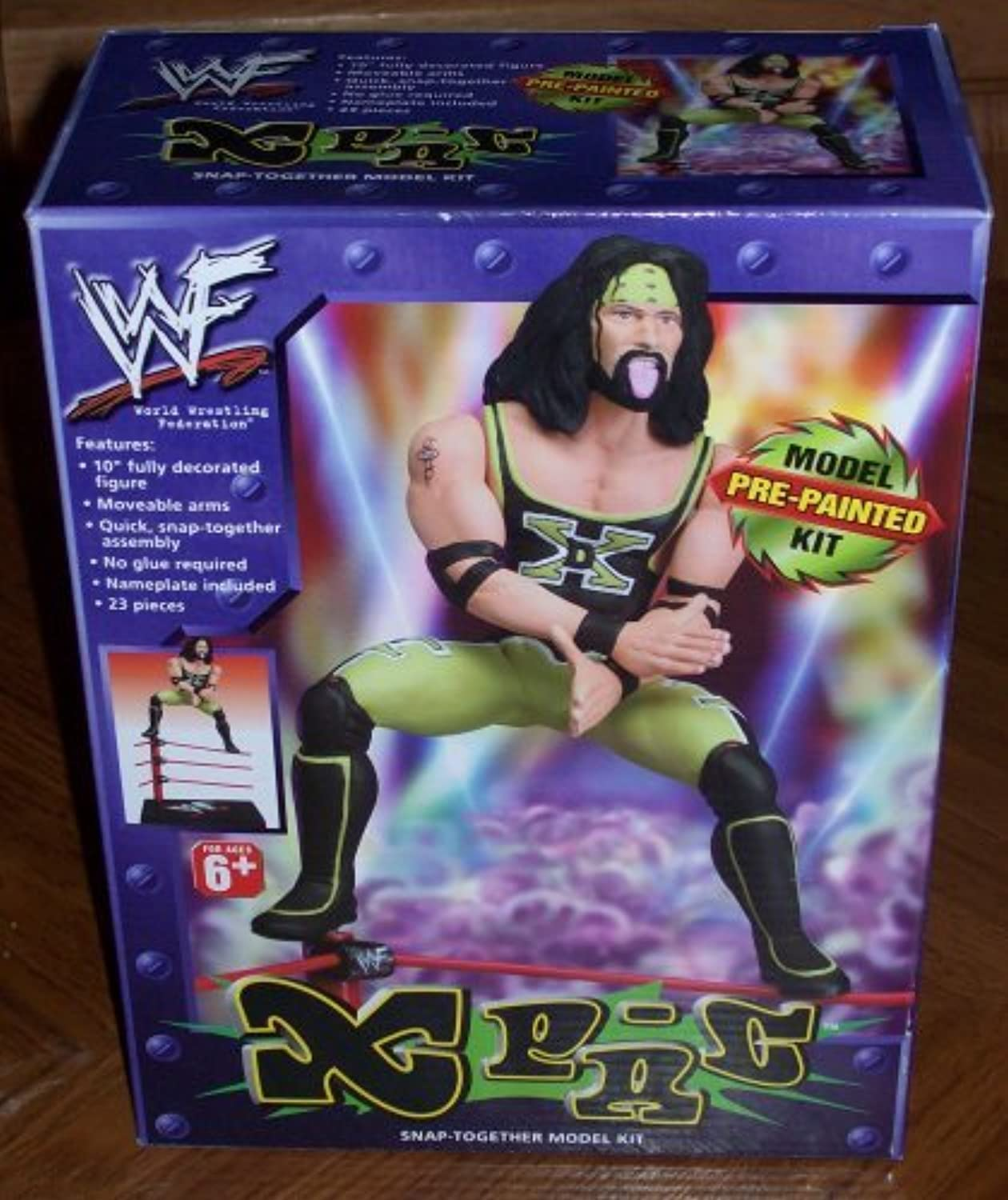 WWF XPac Prepainted Snaptogether Model Kit