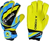 Kobo 2325 Latex Soccer Goal Keeper Gloves, 7.5-inch (Multicolour)