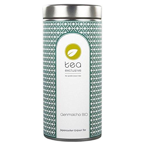 Genmaicha BIO, Grüner Tee, Japan, Dose 100g