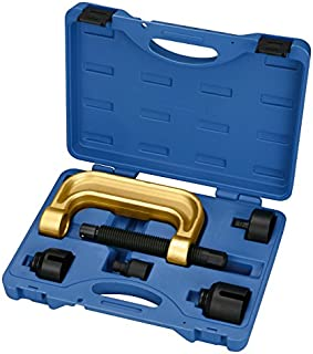 Kauplus Ball Joint Remover/Installer for Mercedes Benz Series 220/211/230 Heavy Duty Ball Joint Service Tool Kit U-Joint Removal Press Install Tool Set