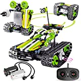 Remote Control Car Building Kit - RC Tracked Racer 3 in 1 Building Set, Fun, Educational, Learning, STEM Toys, Best Gift for Kids Age 8-12, 14 Year Old Boys and Girls (353pcs)