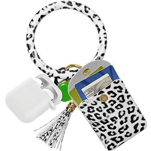 Keychain Wristlet Bangle W/ Credit Card Pocket $7.19 (40% OFF)