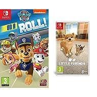 Paw Patrol: On a roll! (Nintendo Switch) & Little Friends: Dogs & Cats (Nintendo Switch)