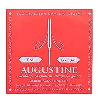 AUGUSTINE (オーガスチン) クラシックギターバラ弦 RED 3