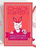 Chaoskarten Junggesellinnenabschied Spiel JGA – Das Original – 50 Missionen –...
