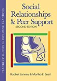 Social Relationships and Peer Support (Teachers' Guides)