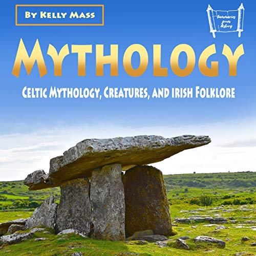 『Mythology: Celtic Mythology, Creatures, and Irish Folklore』のカバーアート