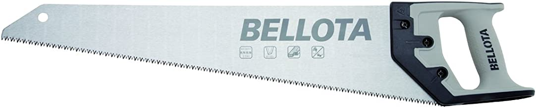 Bellota 4555-19 SERRUCHO CARPINTERO DENTADO JAPONÉS CON MANGO BIMATERIAL DE 475MM, Standard, 475 mm