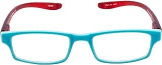 The Reader Reading Glasses Unisex Necktie, Blue Red, 1.50