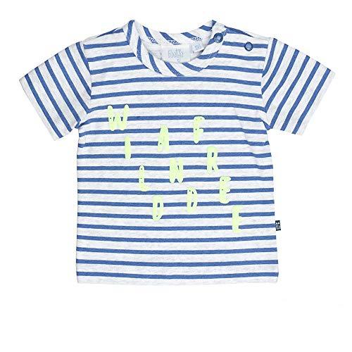 Feetje Ringel Wild and Free T-Shirt pour garçon - Bleu - 6 Mois