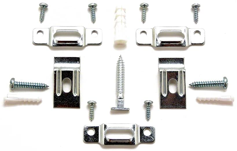T-Lock security hangers locking hardware set for (25) wood or aluminum picture frames plus free HARDENED wrench! ArtRight