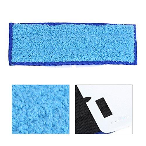 【𝐁𝐥𝐚𝐜𝐤 𝐅𝐫𝐢𝐝𝐚𝒚 𝐃𝐞𝐚𝐥𝐬】 Wischpads, 10-TLG. Ersatzwaschbare Wischpads für i-Robot Braava Jet 240/241(Blaues feuchtes Tuch)
