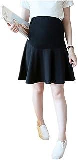 7af026503 LF stores Mini Falda de Embarazo Falda de Maternidad para Mujeres  Embarazadas Coreanos Cortos de Moda